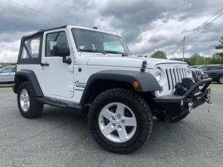 Used 2016 Jeep Wrangler SPORT V6 4X4 AIR MAGS AUTOMATIQUE for sale in St-Malachie, QC