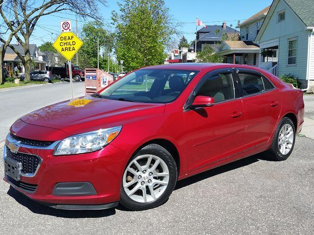 "2014 Chevrolet Malibu LT Sunroof, Rev.Cam ""My Link"" Low Km's"
