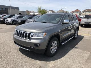 Used 2012 Jeep Grand Cherokee LIMITED *CUIR*TOIT PANO*GPS*HITCH*V6* for sale in Brossard, QC
