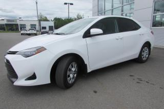 Used 2017 Toyota Corolla LE berline 4 portes CVT for sale in Montmagny, QC