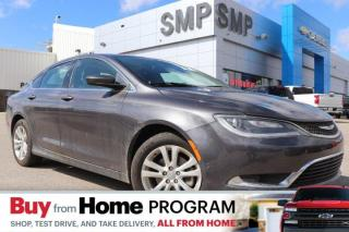 Used 2015 Chrysler 200 Limited - Remote Start, Heated Seats, Sunroof for sale in Saskatoon, SK