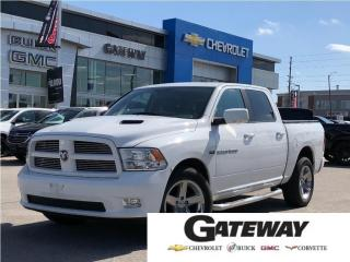 Used 2011 RAM 1500 SLT | POWER SUNROOF | 4X4 | LEATHER | REAR CAMERA for sale in Brampton, ON