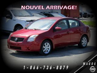 Used 2009 Nissan Sentra 2.0 FE + CRUISE + A/C + ÉCONOMIQUE! for sale in Magog, QC