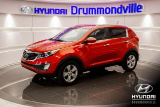 Used 2011 Kia Sportage EX AWD + GARANTIE + CAMERA + MAGS + CRUI for sale in Drummondville, QC