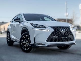 Used 2017 Lexus NX 200t F-SPORT I NAV I BACK UP I ROOF I B.SPOT for sale in Toronto, ON