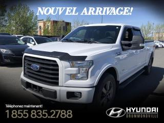 Used 2016 Ford F-150 SPORT XLT 3.5L 4X4 + GARANTIE +  SUPERCR for sale in Drummondville, QC