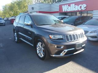 Used 2014 Jeep Grand Cherokee Summit 4WD PANO Roof Leather Interior for sale in Ottawa, ON