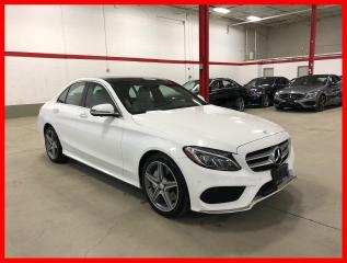 Used 2017 Mercedes-Benz C-Class C300 4MATIC PREMIUM PLUS SPORT LED 360 CAM for sale in Vaughan, ON