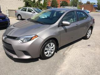Used 2015 Toyota Corolla 4DR SDN CVT LE **ULTRA CLEAN** for sale in Longueuil, QC