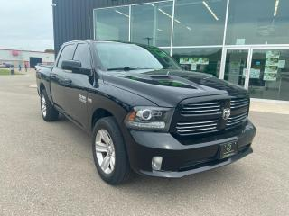 Used 2013 RAM 1500 4WD Crew Cab 140.5  Sport, Low Kilometres for sale in Ingersoll, ON