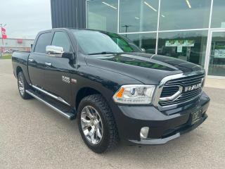Used 2017 RAM 1500 4WD Crew Cab 140.5  Limited, One Owner for sale in Ingersoll, ON