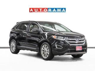 Used 2017 Ford Edge Titanium AWD Nav Leather Pano-Sunroof Backup Cam for sale in Toronto, ON