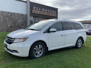 Used 2015 Honda Odyssey EX-L w/RES BLIND-SPOT CAM TV-DVD for sale in North York, ON