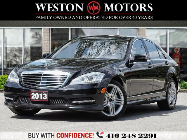 2013 Mercedes-Benz S 550 S550*SUNROOF*LEATHER*NAVI*FULL LOADED!!*