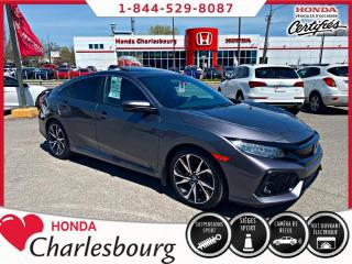 Used 2017 Honda Civic SI 4 PORTES **UN PROPRIÉTAIRE**0 ACCIDEN for sale in Charlesbourg, QC