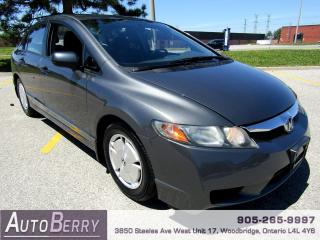 Used 2011 Honda Civic DX-G - 1.8L - Auto for sale in Woodbridge, ON