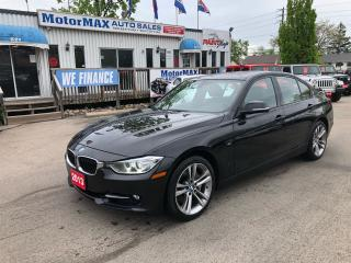 Used 2013 BMW 3 Series 335i xDrive-TURBO-ACCIDENT FREE for sale in Stoney Creek, ON