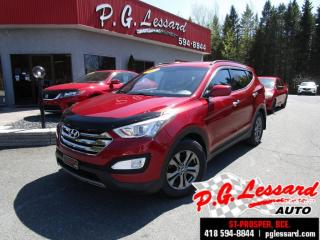 Used 2013 Hyundai Santa Fe Sport premium awd siege volant chauffant bluetooth for sale in St-Prosper, QC