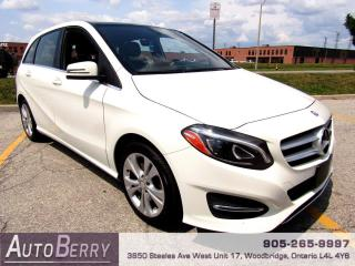 Used 2016 Mercedes-Benz B-Class B250 4MATIC Accident Free!!! Apple Carplay for sale in Woodbridge, ON