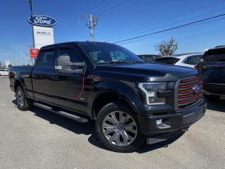 Used 2017 Ford F-150 LARIAT decor sport GPS TOIT for sale in St-Eustache, QC