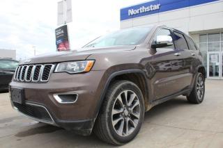 Used 2018 Jeep Grand Cherokee LTD LEATHER/PANOROOF/NAV/COOLEDSEATS/HEATEDSTEERING for sale in Edmonton, AB