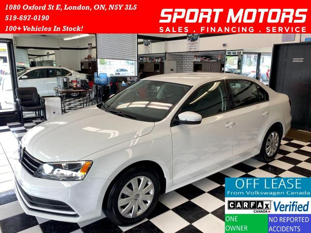 2016 Volkswagen Jetta Trendline+Camera+Apple Carplay+Accident Free