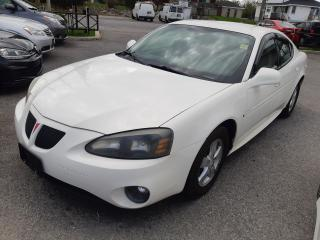 Used 2007 Pontiac Grand Prix Accident Free, Power options, A/C, only 110 KM for sale in Ottawa, ON