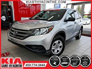 Used 2013 Honda CR-V LX * CAMÉRA DE RECUL / SIÈGES CHAUFFANTS for sale in St-Hyacinthe, QC
