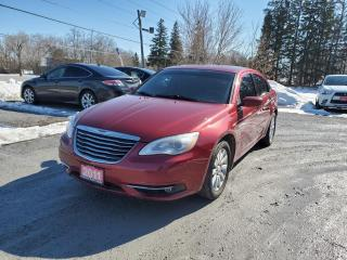 Used 2011 Chrysler 200 S TOURING LOW KMS CERTIFIED for sale in Stouffville, ON