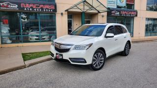 Used 2014 Acura MDX Nav Pkg**NAVI**BACKUP CAM**NO ACCIDENT** for sale in North York, ON
