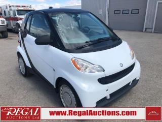 Used 2009 Smart fortwo 2D CAR for sale in Calgary, AB