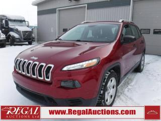 Used 2015 Jeep Cherokee Sport 4D Utility 2WD 2.4L for sale in Calgary, AB