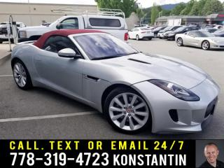 Used 2017 Jaguar F-Type Convertible 2dr Rear-wheel Drive Convertible Base (A8) for sale in Maple Ridge, BC