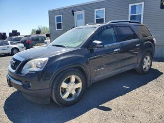 Used 2008 GMC Acadia SLT-2 AWD for sale in Stittsville, ON