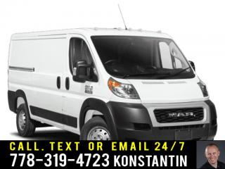 Used 2019 RAM 3500 ProMaster High Roof EXT 159