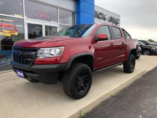 New 2020 Chevrolet Colorado ZR2 for sale in Napanee, ON