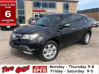 Used 2007 Acura MDX 4WD Leather Navigation Moonroof Back Up Camera for sale in St Catharines, ON
