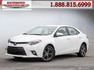 Used 2016 Toyota Corolla for sale in Richmond, BC