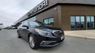 Used 2015 Hyundai Sonata LIMITED - CONTACTLESS DELIVERY AVAILABLE. for sale in Sudbury, ON