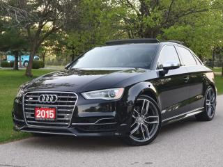 Used 2015 Audi S3 S3 Technik|NO ACCIDENT| NAVI|BLIND SPOT for sale in Mississauga, ON