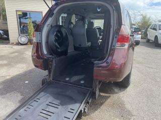 Used 2016 Honda Odyssey Wheel Chair Accessible Van BraunAbility Rear Entry Tourin for sale in Scarborough, ON