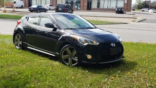 Used 2013 Hyundai Veloster 3DR CPE TURBO for sale in Brampton, ON
