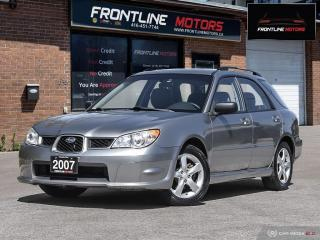 Used 2007 Subaru Impreza 5dr Wgn Auto 2.5i for sale in Scarborough, ON