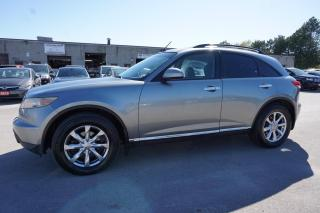 Used 2007 Infiniti FX35 AWD CERTIFIED 2YR WARRANTY CAMERA *FREE ACCIDENT* SUNROOF BLUETOOTH HEATED LEATHER for sale in Milton, ON
