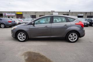 Used 2012 Ford Focus 5Spd TITANUM PKG NAVI CERTIFIED 2YR WARRANTY HEATED LEATHER SUNROOF *FREE ACCIDENT* POWER SEAT for sale in Milton, ON