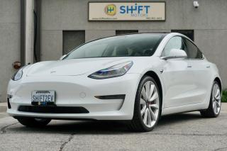 Used 2019 Tesla Model 3 PERFORMANCE ENHANCED AUTOPILOT, FSD FULL SELF DRIVING! for sale in Burlington, ON