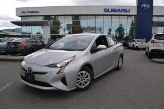 Used 2017 Toyota Prius HYBRID 26,000KM! for sale in Port Coquitlam, BC