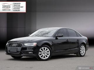 Used 2013 Audi A4 2.0T (Tiptronic) | LEATHER | ROOF | AWD | LOADED for sale in Scarborough, ON