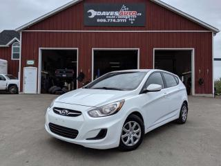 Used 2013 Hyundai Accent Heated Seats! KROWN undercoated! Very Clean! for sale in Dunnville, ON