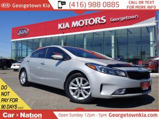 Used 2017 Kia Forte EX | 1 OWNER | CLN CRFX | B/UP CAM | HTD SEATS for sale in Georgetown, ON